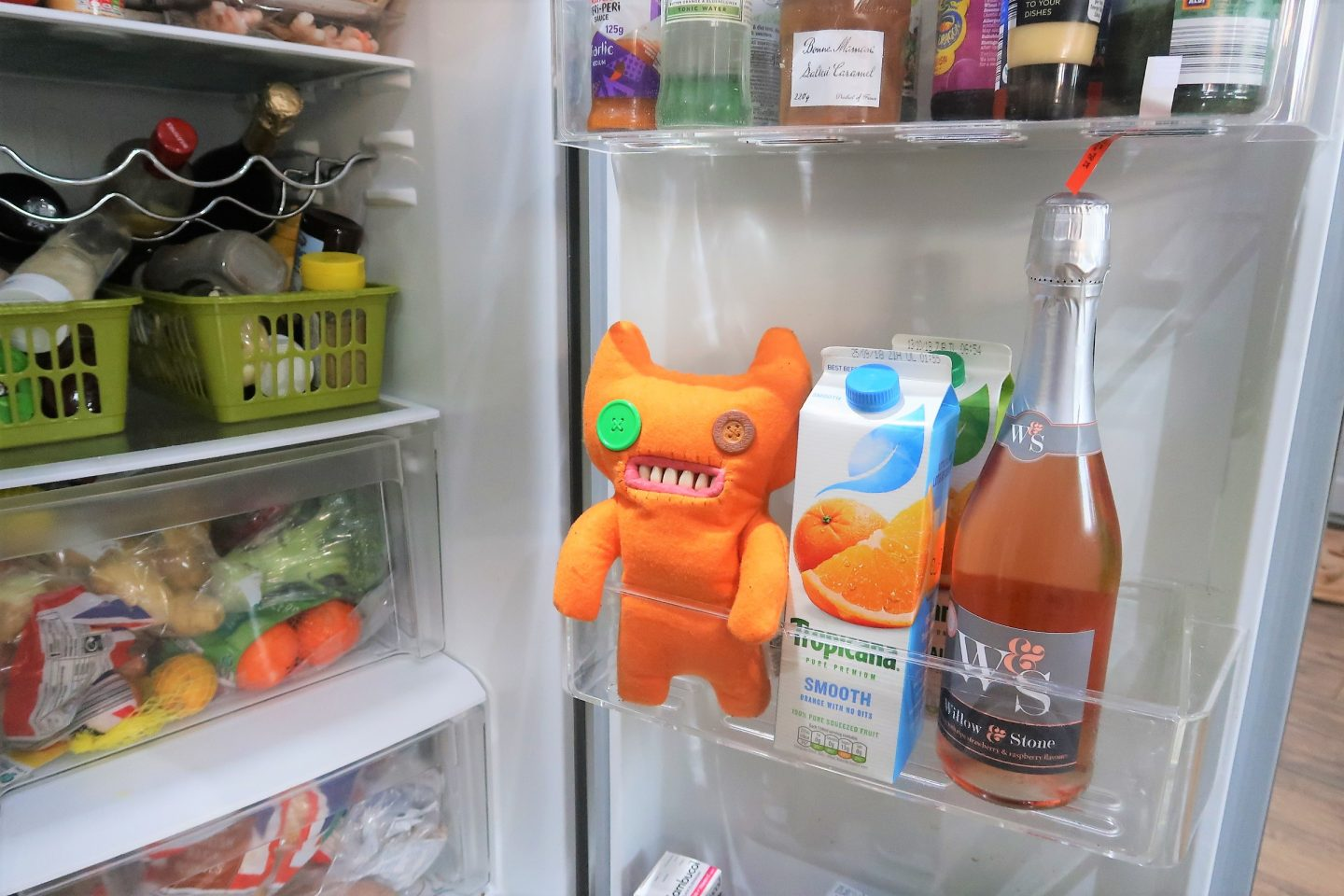 fuggler in fridge