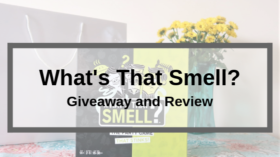 What's That Smell? Review and Giveaway
