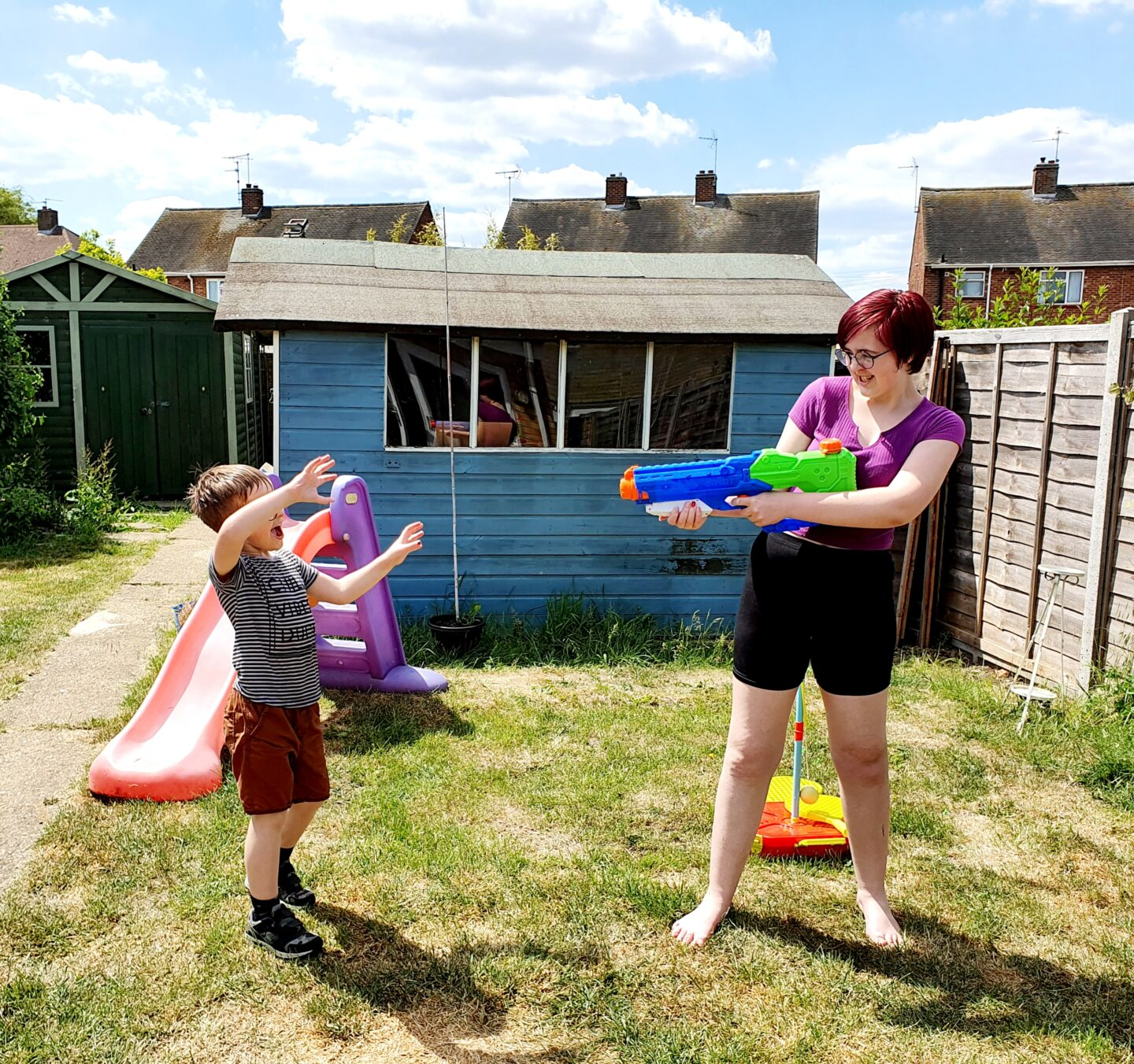 Water fights and Caterpillars – Living Arrows Week 26 2020